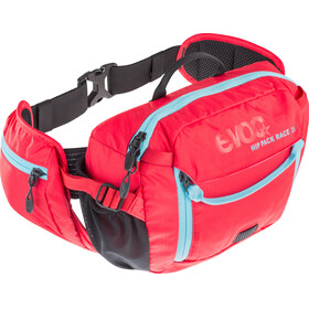 Evoc Hip Pack Race Backpack 3 L + Hydration Bladder 1,5 L red-neon blue
